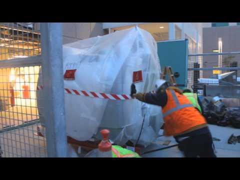 Sharp and Children's MRI Center Rady Magnet Install
