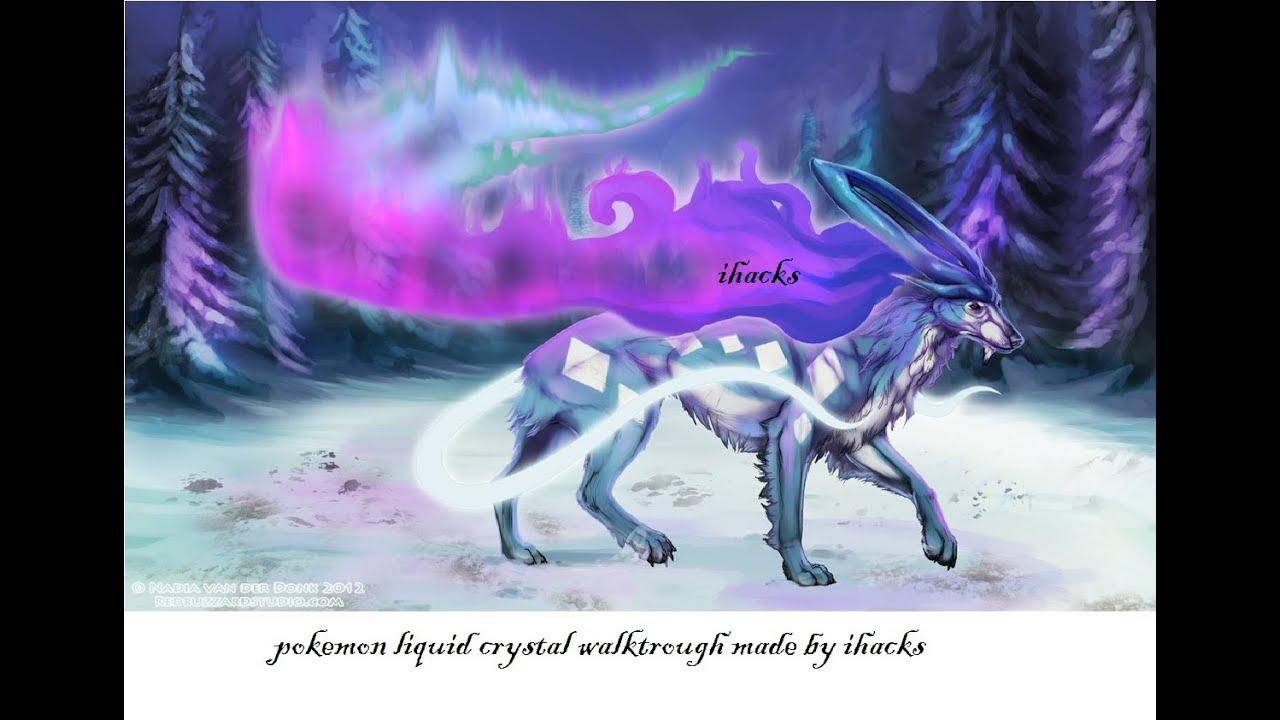 Pokemon liquid crystal dna sample use