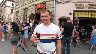 Поездка из Днепра в западную часть Украины часть 9  Львов  начало...
