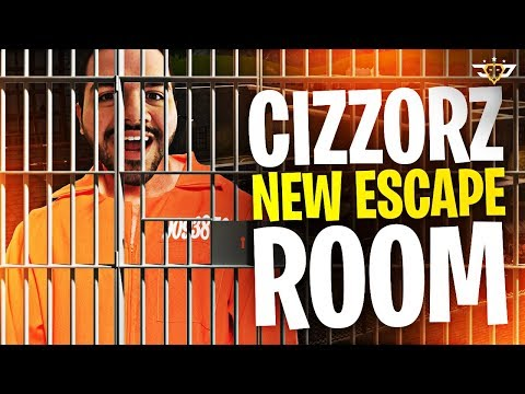 I BROKE MY HAND?! CIZZORZ NEW ESCAPE ROOM! CIZZORZ LIVE REACTS! (Fortnite: Battle Royale)