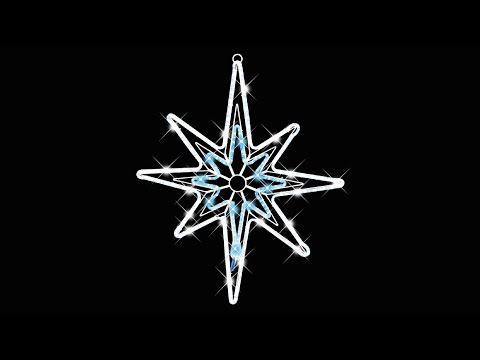 Lighting display led rope light star special effects the lighting display led rope light star special effects the christmas warehouse youtube aloadofball Choice Image