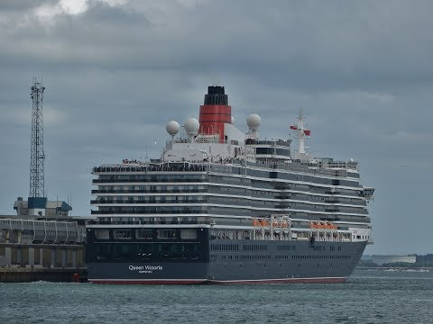 Cruise Ships & Other Vessels in Southampton Docks - 04/06/20