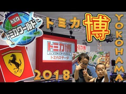 トミカ博 in YOKOHAMA 2018 へいってきたよ 横浜