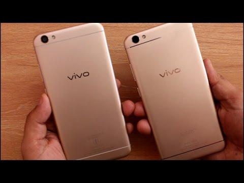 Vivo Y66 Vs Vivo V5 Quick Compariso Speedtest I Hindi Youtube
