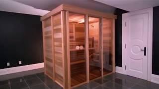 Indoor Pure Cube Sauna Model PU570