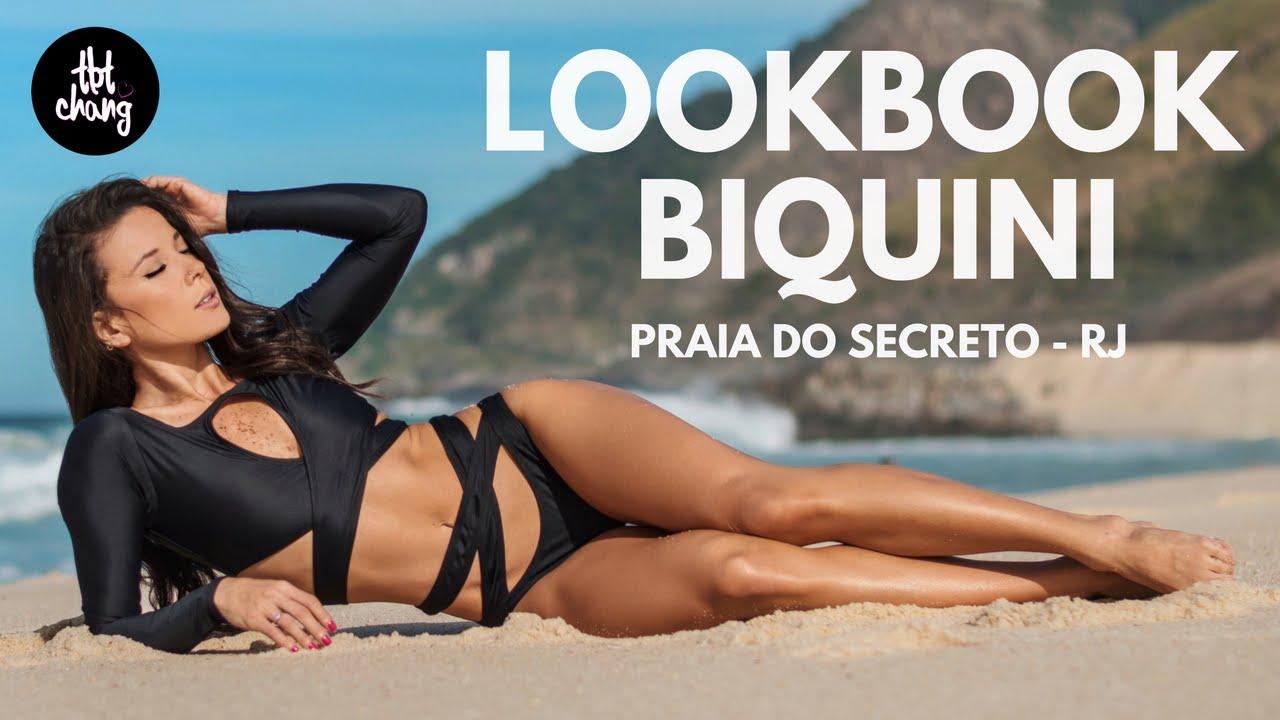 9e00d4503422 Lookbook de Biquini Tábata Chang - Sessão de Fotos na Praia do Secreto -  YouTube