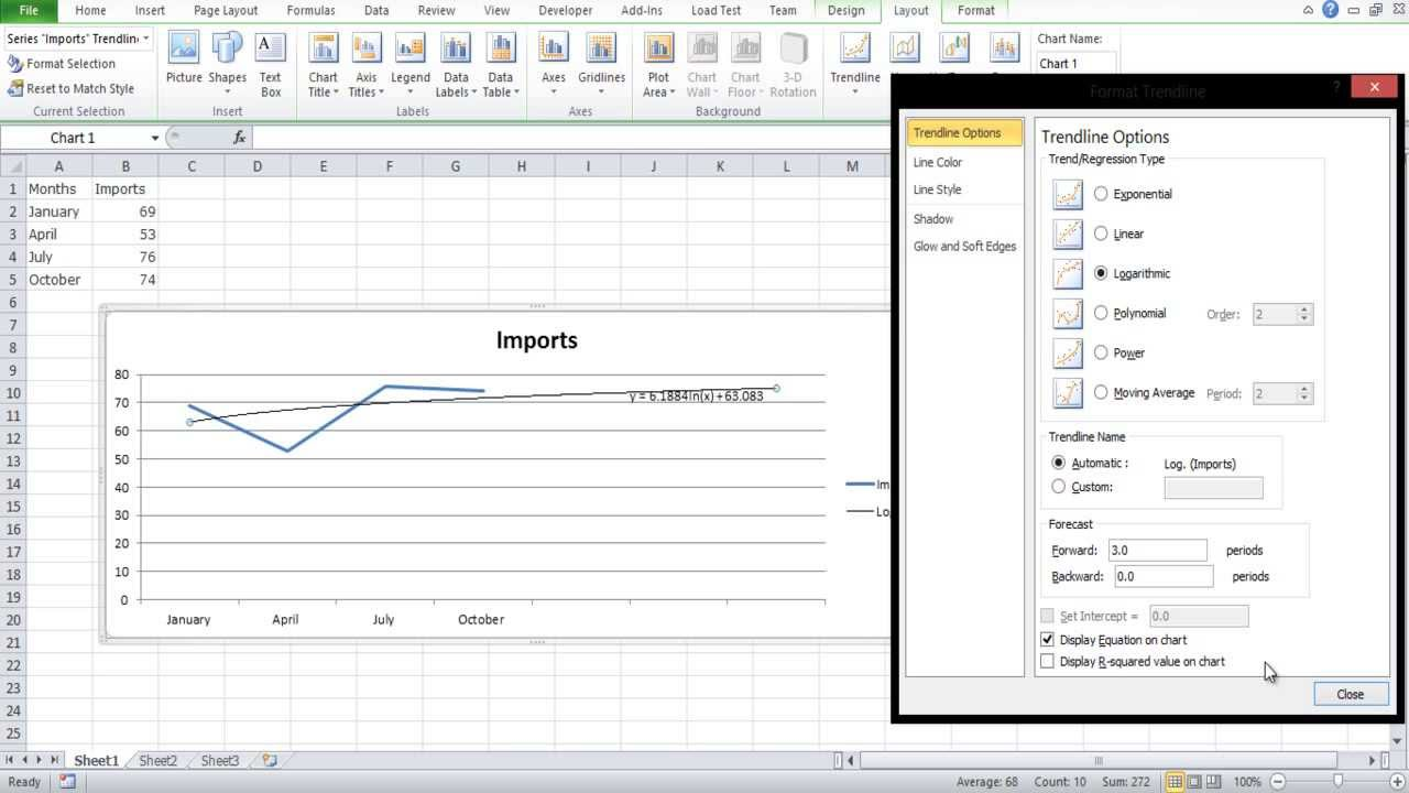 How to extrapolate excel graph youtube how to extrapolate excel graph nvjuhfo Image collections