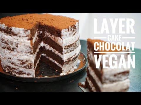 """gâteau-de-noël-vegan-au-chocolat-""""layer-cake"""""""