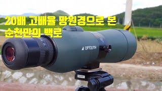 고배율 망원경·필드스코프·스포팅스코프로 본 순천만의 백…