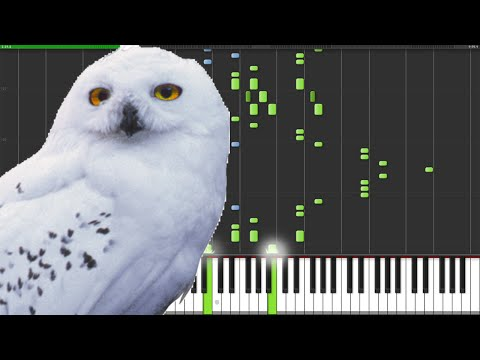 Hedwig's Theme Variations - Harry Potter [Piano Tutorial] (Synthesia) // Master Snape