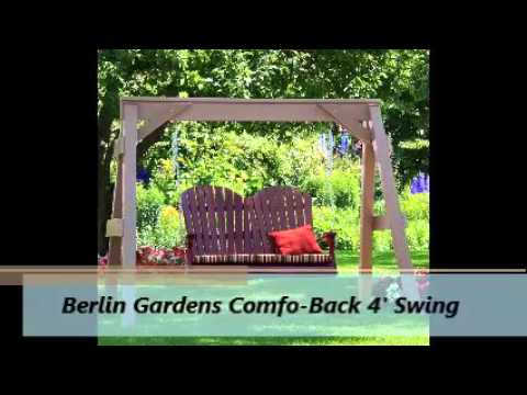 Premium Poly Patios Berlin Gardens Polywood Furniture With Subtitles Amara