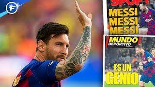 VIDEO: Le génie de Messi fait encore halluciner l'Espagne | Revue de presse