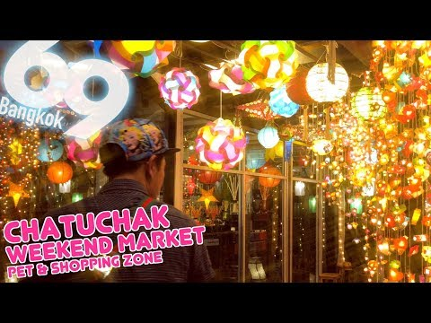 Chatuchack Market is about shopping & Pet! 2018 ( 4K UHD )