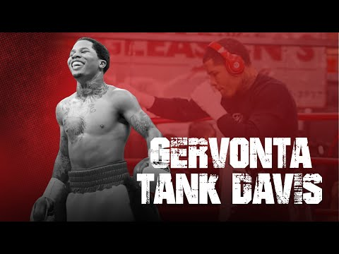 Gervonta Tank Davis Sparring Fighters 6 Weigh Classes Bigger