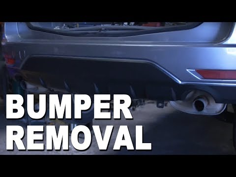 How To Install a Rear Bumper Cover – 2010 Subaru Forester