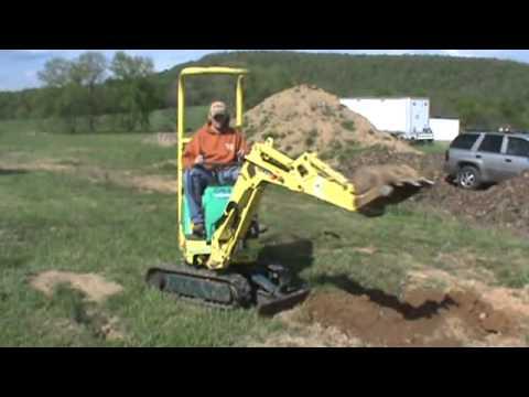 Kubota Mini Excavator For Sale >> 2005 Yanmar B08-3 Mini Compact Excavator Micro For Sale Mark Supply - YouTube