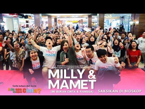 Cover Lagu MILLY & MAMET (Ini Bukan Cinta & Rangga) - Nobar Di Citywalks XXI Medan & Media Visit STAFABAND