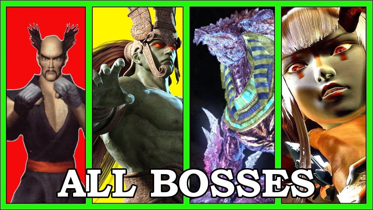 Evolution Of Tekken Bosses (1994-2021)