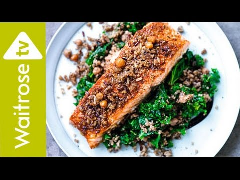 Spicy Salmon With Kale | Waitrose