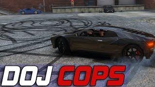 Dept. of Justice Cops #589 - Sanctioned Drift Events