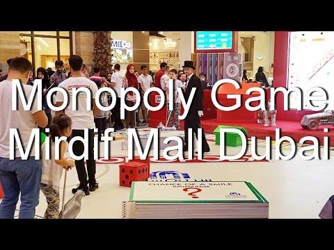 Giant Monopoly game at Mirdif Mall Dubai part 2