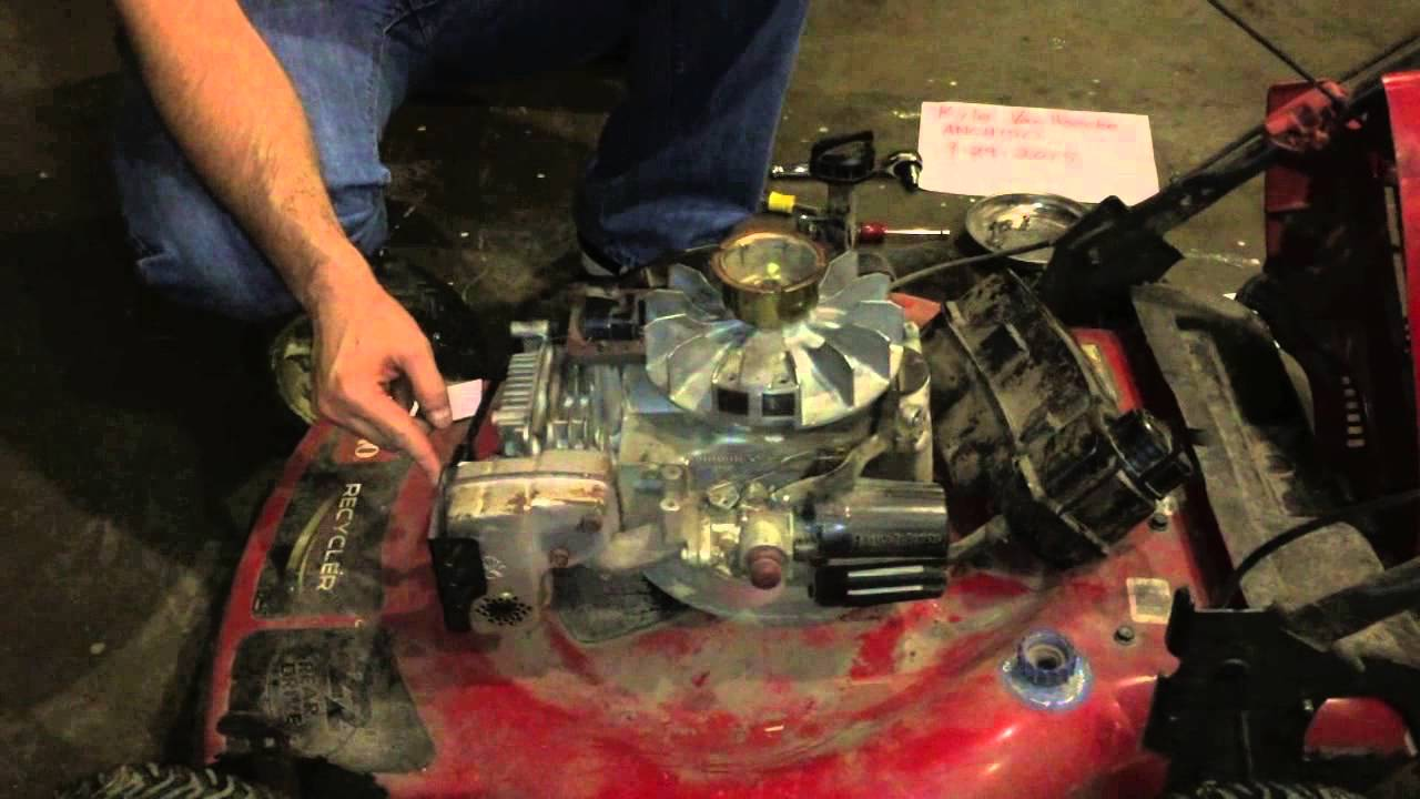 Replacing The Ignition Coil On A Toro Recycler Lawn Mower
