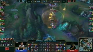 flyquest vs dignitas  na lcs week 3 day 2 spring 2017 g1 hai zed