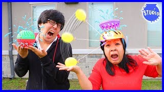 Don't Get Soaked Family Fun Activities with Splash Out and Head Spat!!