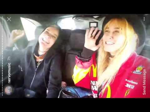 Whitney car karaoke | NERVO