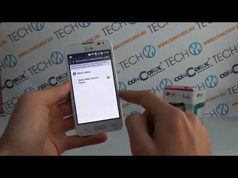 LG L65 KitKat bemutató videó