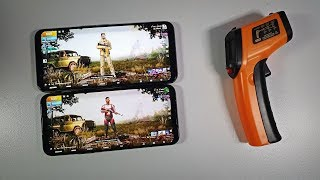 Black Shark 2 Pro vs Red Magic 3S Gaming comparison/Heating cooling/Snapdragon 855 Plus PUBG HDR
