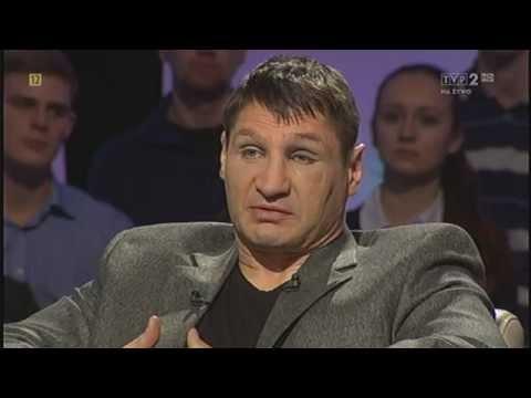 """Andrzej Gołota W """"Tomasz Lis Na żywo"""""""