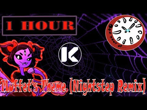 """Undertale - Spider Dance """"Muffet's Theme"""" (Nightstep Remix)  1 hour 