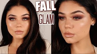 SIMPLE FALL MAKEUP TUTORIAL 2018 | Blissfulbrii