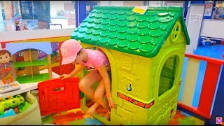 Kids Playing at the Toy Store  Playhouse Fun For Kids  Naty TubeFun