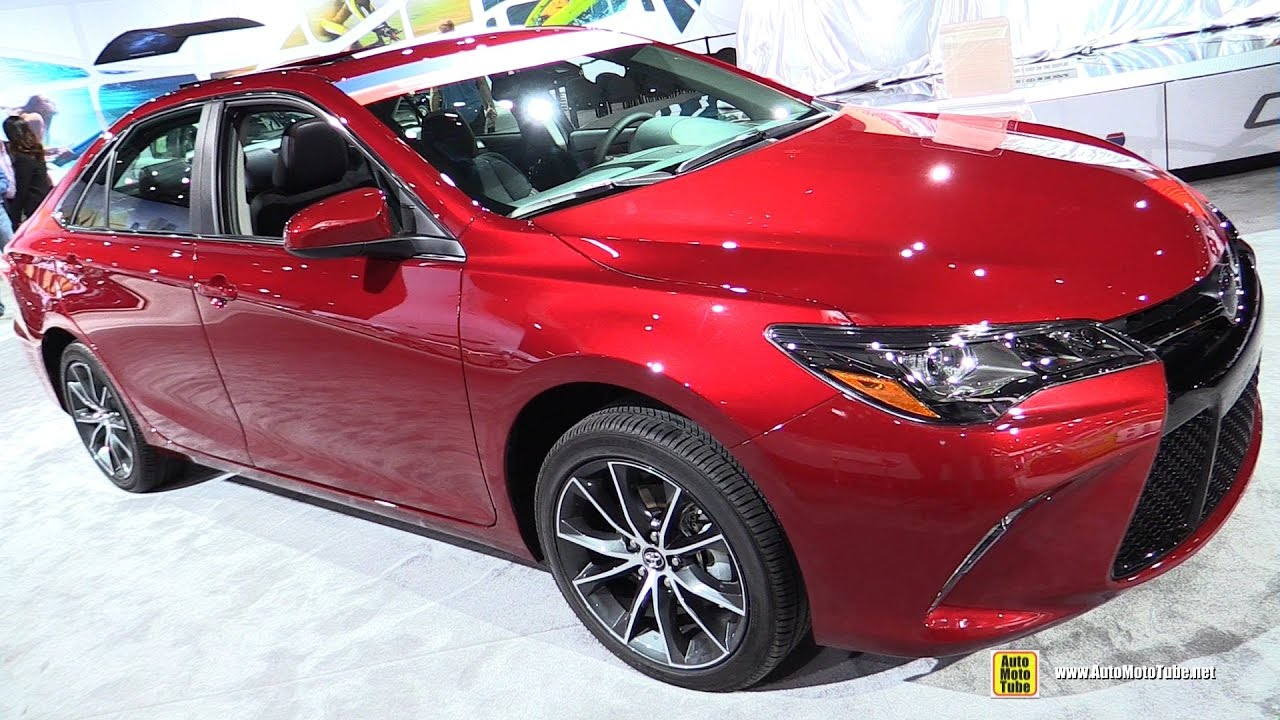 2017 toyota camry xse exterior and interior walkaround 2016 la auto show youtube. Black Bedroom Furniture Sets. Home Design Ideas