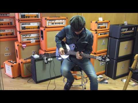 Zemaitis Buccaneer Island Jo Dog Steven James Guitars