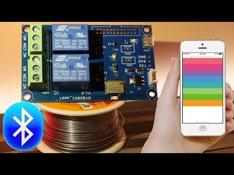 Control Your Room Lights With Your Mobile | Make Your Home Smart