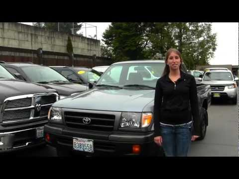 Virutal Walk Around Tour of a 1998 Toyota Tacoma at Titus Will Ford in Tacoma