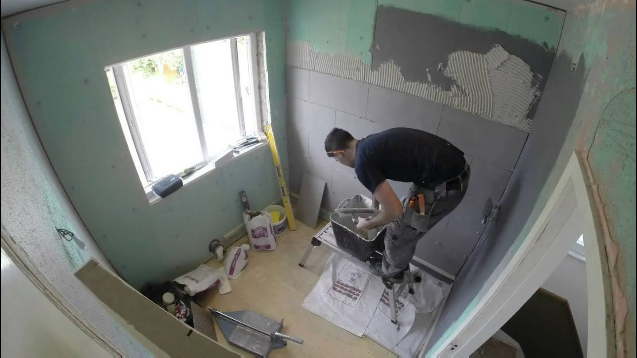 Gopro Bathroom Renovation Time Lapse Youtube