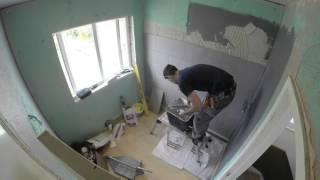 connectYoutube - GoPro Bathroom renovation time lapse