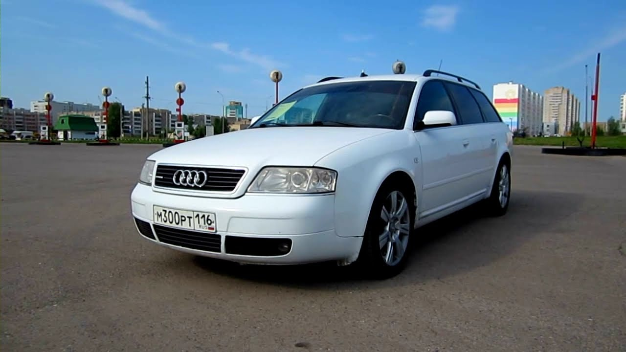 2000 audi a6 avant start up engine and in depth tour. Black Bedroom Furniture Sets. Home Design Ideas