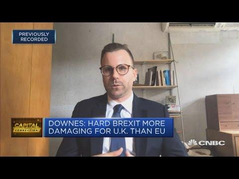 Hard Brexit more damaging for UK than EU, says academic
