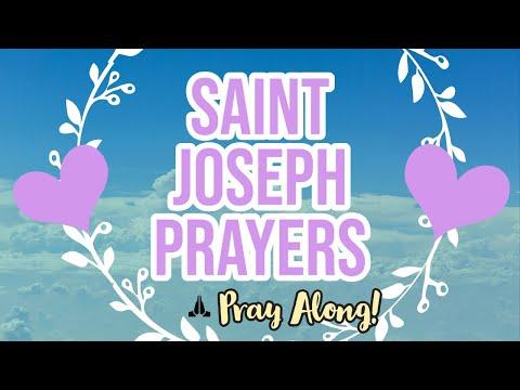 PRAY WITH ME! Saint Joseph Prayers