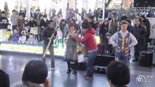 フラッシュモブ JR大阪駅 「時空の広場」 パフォーマンスPart.