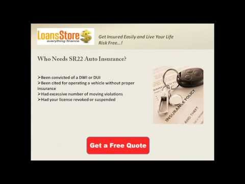 SR22 Car Insurance Quotes