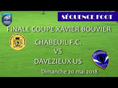 20.05.2018 - Finale Coupe Xavier BOUVIER - Ruoms 2018
