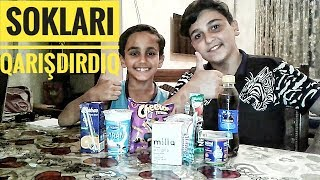Smoothie challenge etdik !!  (Mirt video)
