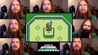 Repeat youtube video Zelda A Link to the Past - Lost Woods/Master Sword Acapella