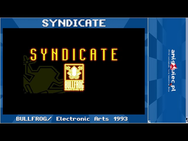 Syndicate Intro [ Amiga 50FPS HD ]
